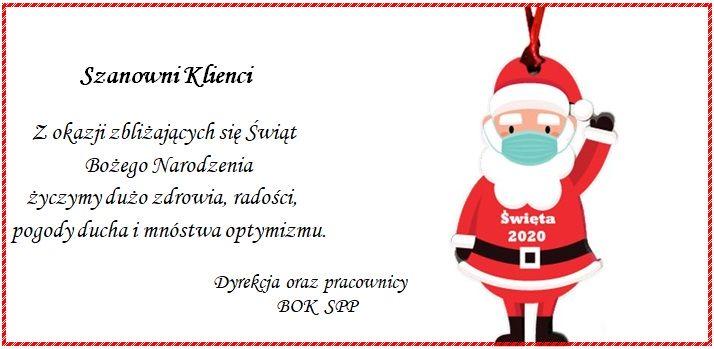 Mikołaj - Życzenia Świąteczne